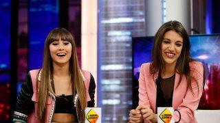 Aitana Ocaña y Ana Guerra en 'El Hormiguero'. / Gtres