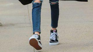 GALERÍA: Las Vans Old Skool se convierten en el calzado preferido de las 'celebrities'. / Gtres