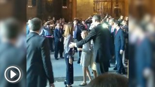Enfrentamiento entre la reina Letizia y la reina Sofía en la catedral de Palma de Mallorca