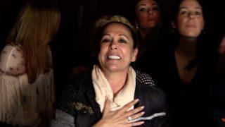 Isabel Pantoja durante  la presentación de la gira »Así soy yo» en Sevilla/Gtres