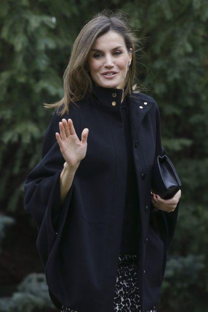 La Reina desafía al clima y se pone 'salvaje' tras reconciliarse con doña Sofía
