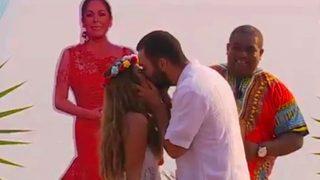Isa Pantoja y Alberto Isla se casan en 'Supervivirentes'/ Mediaset