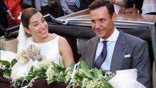Leire Martínez y Jacobo Bustamante el día de su boda / Gtres