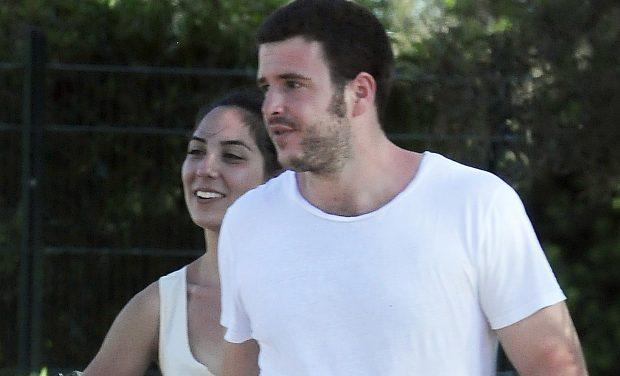 Álex Lequio junto a su novia Francisca/ Gtres