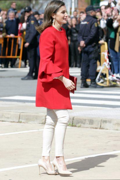 Doña Letizia, reina al rojo vivo en Huelva