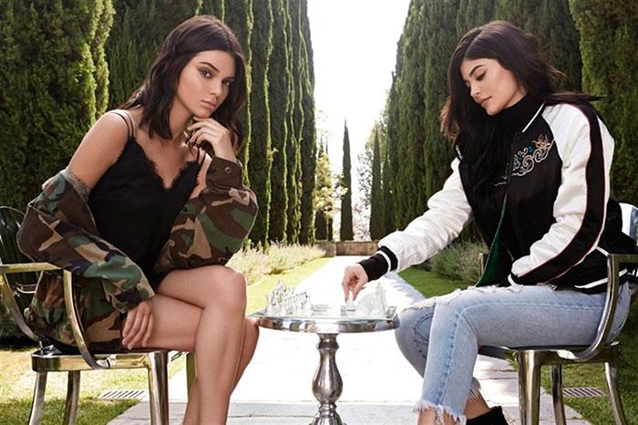Kendall y Kylie Jenner en la imagen de campaña / Forever 21