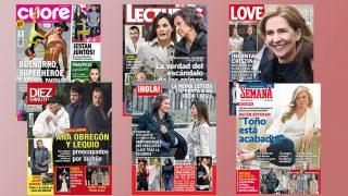 Todas las portadas del miércoles 11 de abril./ Gtres