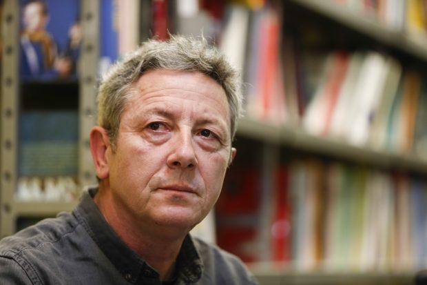 Alonso Guerrero durante la presentación de su libro / Gtres