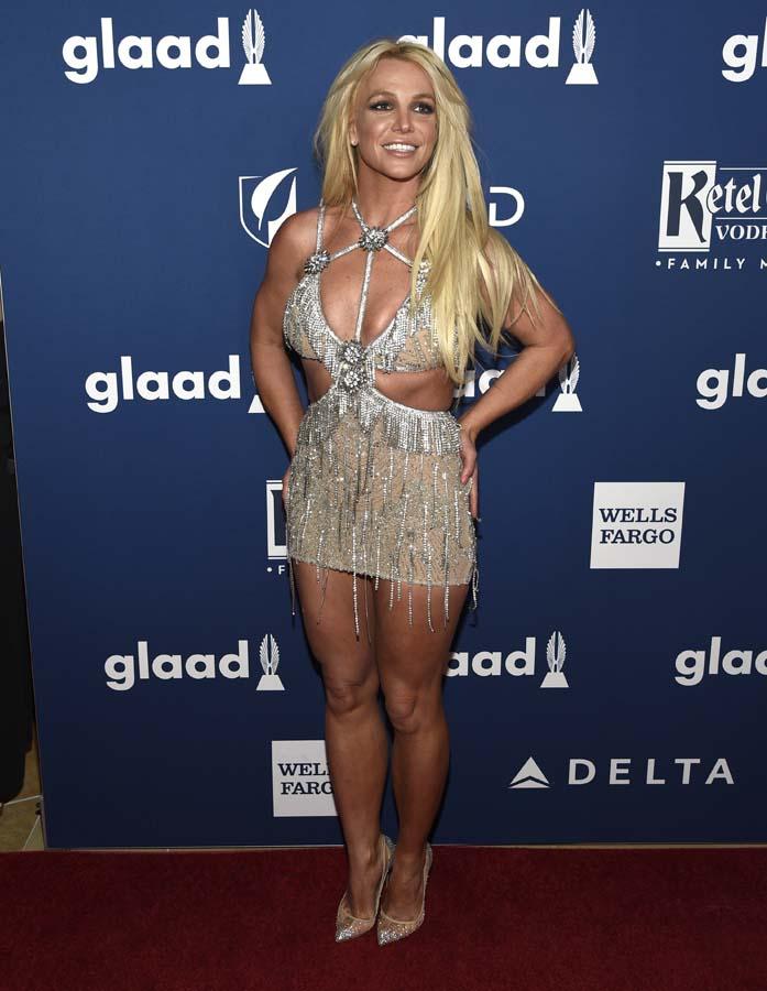Britney Spears en los premio GLAAD 2018