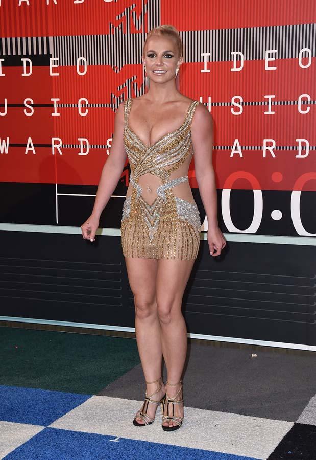 Britney Spears en los premios MTV 2015