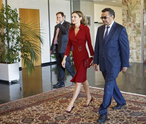 Doña Letizia en Ginebra con el Archy / Gtres