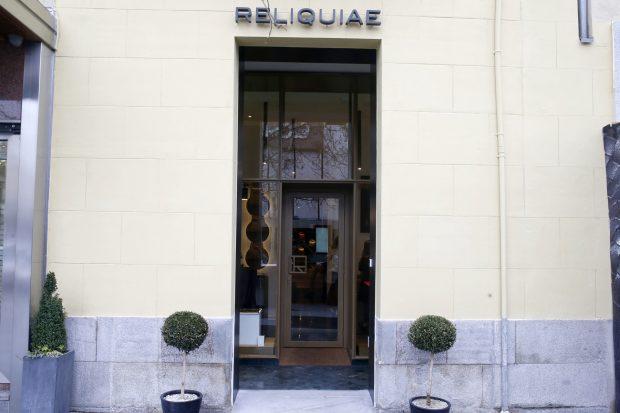Exterior de la nueva tienda de Reliquiae en Madrid / Gtres