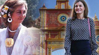 La reina Sofía y la reina Letizia en un fotomontaje de LOOK