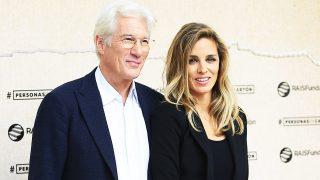 Richard Gere y Alejandra Silva en una imagen de archivo./ Gtres