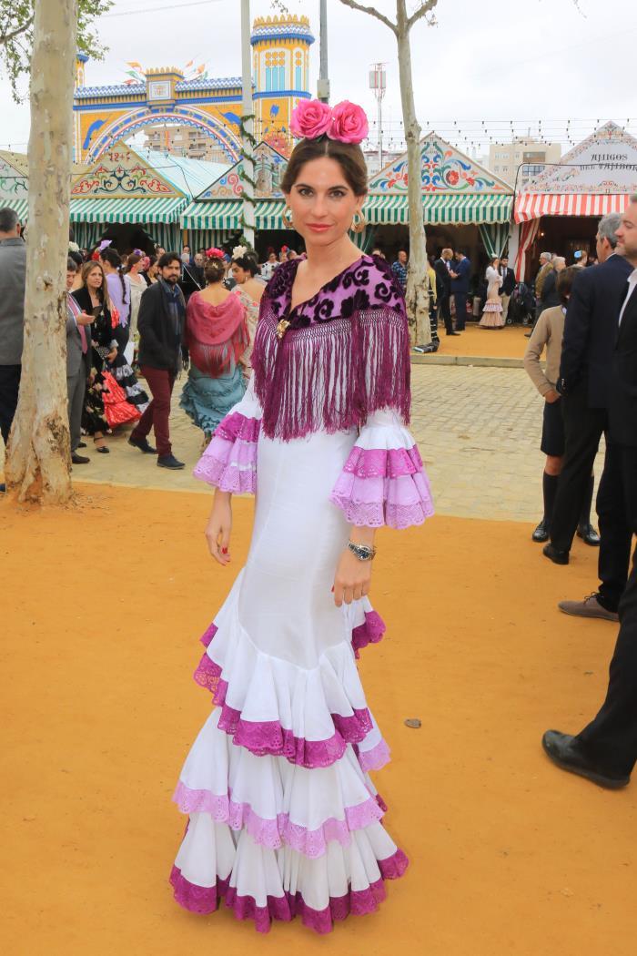 Los mejores looks del primer fin de semana de Feria en Sevilla - Look f83f60b3ae4