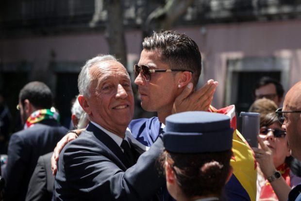 El 'plantón' de Cristiano Ronaldo a los Reyes y a su Presidente
