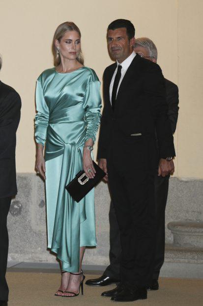 Luis Figo y Helen Swedin / Gtres