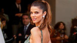 Juana Acosta eligió el modelo más sostenible de H&M. (Gtres)