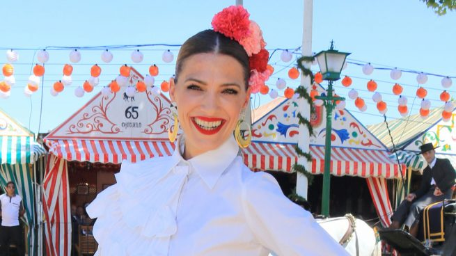 Laura Sánchez en la Feria de Abril 2018