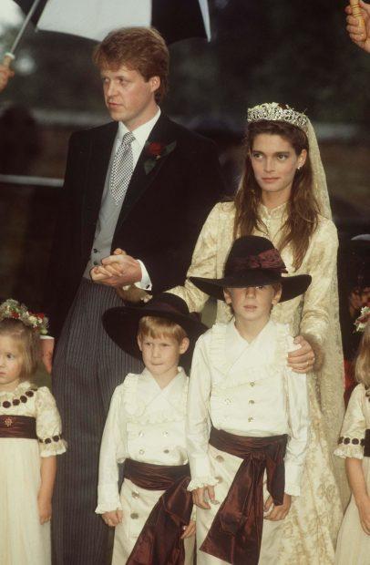 La primera esposa del Conde, Victoria Lockwood , con la tiara/ Gtres