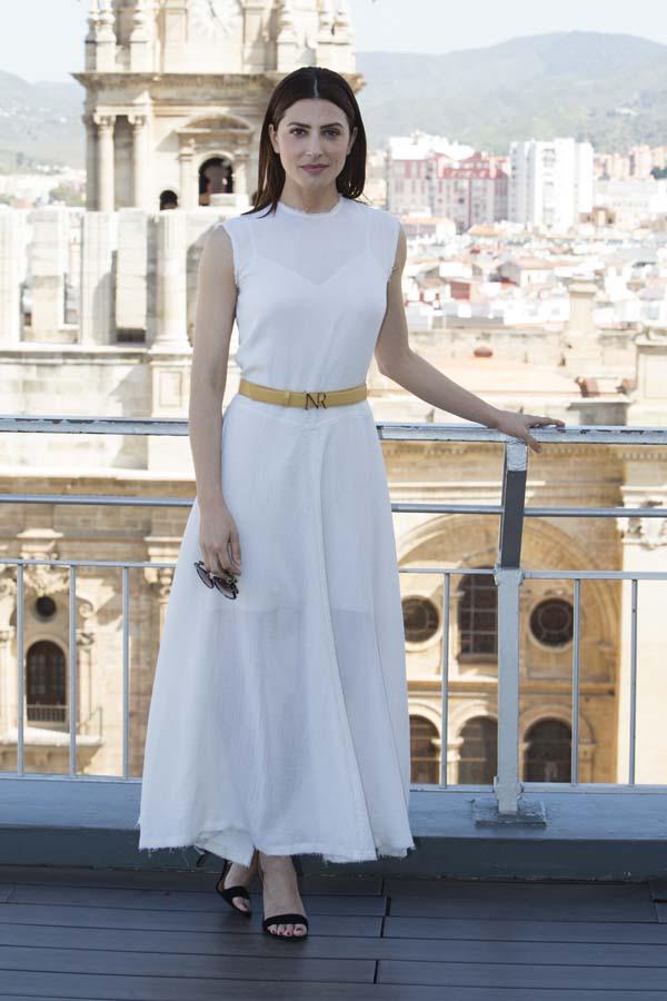 Bárbara Lennie recibe el premio Belleza Comprometida en el Festival de Málaga 2018