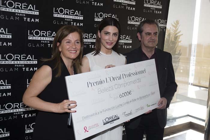Bárbara Lennie recoge el primio de Belleza Comprometida