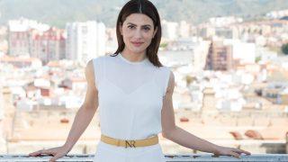 Bárbara Lennie recibe el premio Belleza Comprometida durante la 21 edición del Festival de Cine de Malaga / Gtres