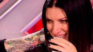 Laura Pausini en 'Factor X' / Telecinco