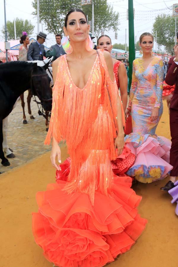 Noelia Margotón en la Feria de Abril 2018