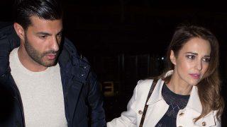 La actriz Paula Echevarría y el futbolista Miguel Torres en Madrid /Gtres