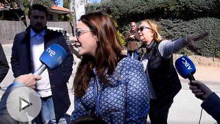 La hija del Marqués de Larios, Sandra Fernández de Villavicencio, tras ser desahuciada / Gtres