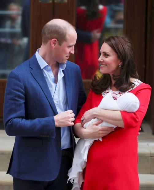 Resuelto el misterio… ya se conoce el nombre del tercer hijo de los duques de Cambridge
