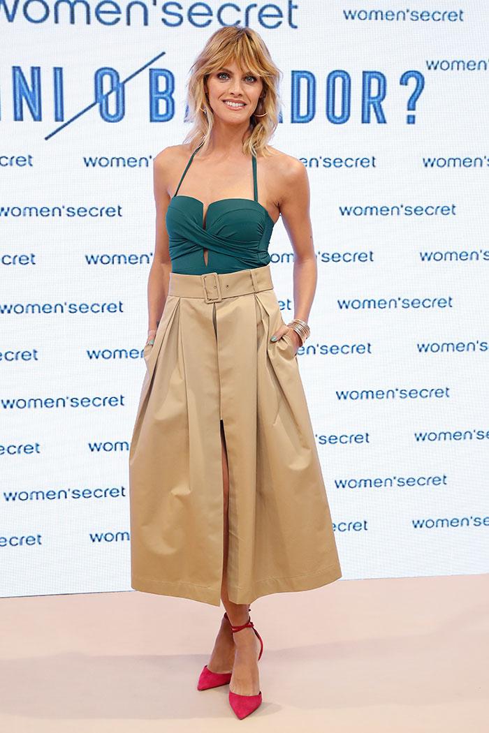 Amaia Salamanca durante la presentación de lo nuevo de Women'secret / Gtres