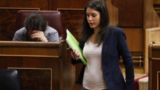 Irene Montero ya luce barriguita en el Congreso/ Gtres