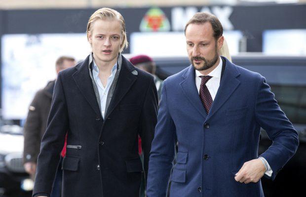 Marius con Haakon de Noruega / Gtres