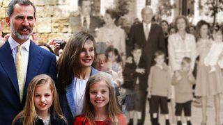 Así ha evolucionado el posado de la familia real en Palma con motivo de la Misa Pascua / Gtres