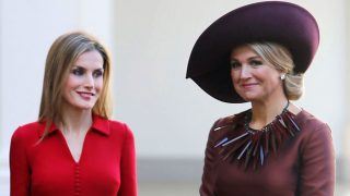 GALERÍA. Letizia y Máxima, dos reinas y un estilo / Gtres