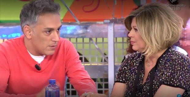 Terelu Campos rompe a llorar al escuchar las disculpas de Kiko Hernández