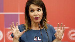 La periodista Carme Chaparro durante la entrega del Premio feminismo en el socialismo en Madrid / Gtres
