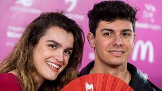Amaia y Alfred durante una Pre Party eurovisiva en Madrid / Gtres
