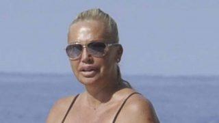 Belén Esteban en bikini durante unas vacaciones en Benidorm /Gtres