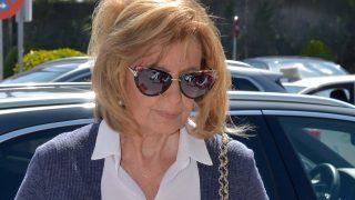La presentadora María Teresa Campos se ha mostrado muy triste /Gtres