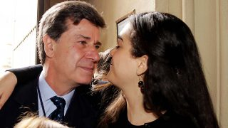 Cayetano Martínez de Irujo y Bárbara Mirján en una imagen de archivo / Gtres