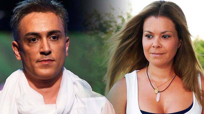 Kiko Hernández y María José Campanario