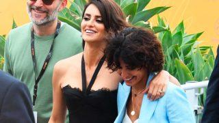 Galería: Así fue el tropezón de Inma Cuesta en pleno festival de Cannes / Gtres
