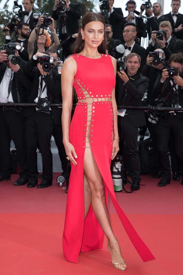 Irina Shayk en el Festival de Cannes 2018
