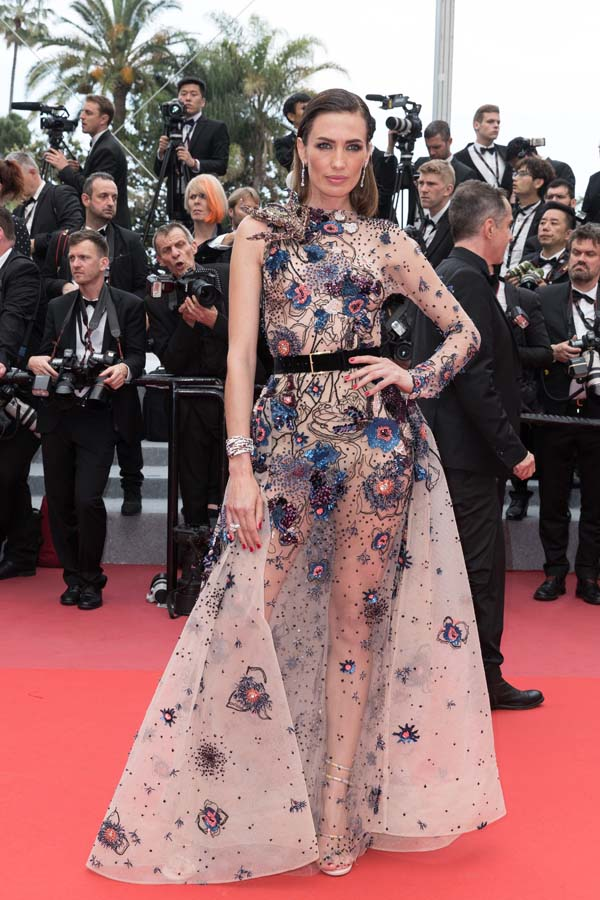 Nieves Álvarez en el Festiva de Cannes 2018
