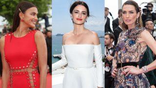 Penélope Cruz, Irina Shayk y Nieves Álvarez derrochan estilo en Cannes / Gtres
