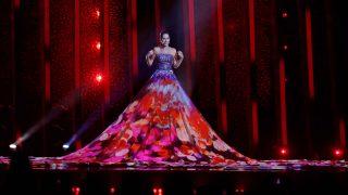 Estonia llevaba un vestido increíble /Gtres