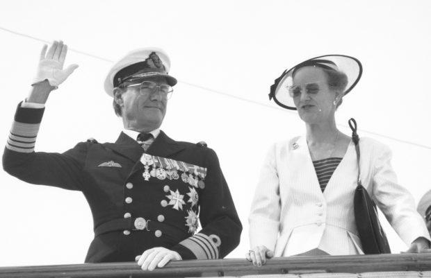 Henrik y Margarita de Dinamarca